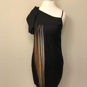 Banana Republic Women's 6 Cold Shoulder Dress